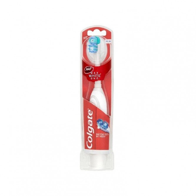 Colgate toothbrushes max white one battery