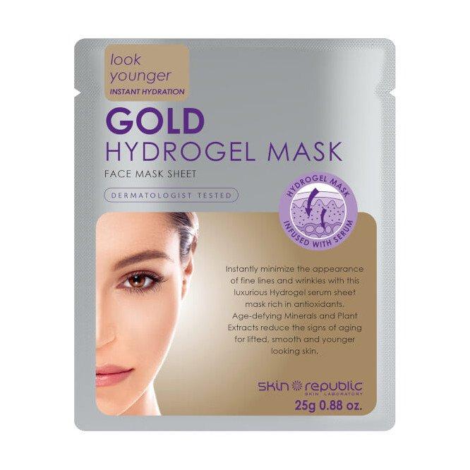 Skin republic face mask gold hydrogel mask 25g