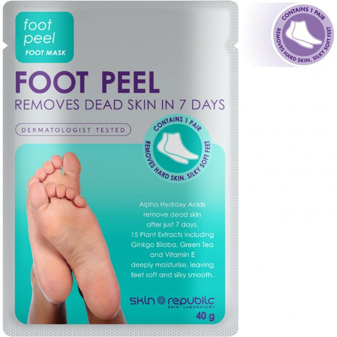 Skin Republic Foot Peel 40G (10 Pk)