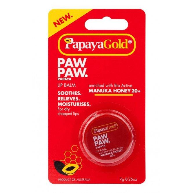 Papayagold paw paw lip balm 7g