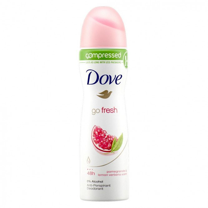 Dove antiperspirant aerosol pomegranate 75ml