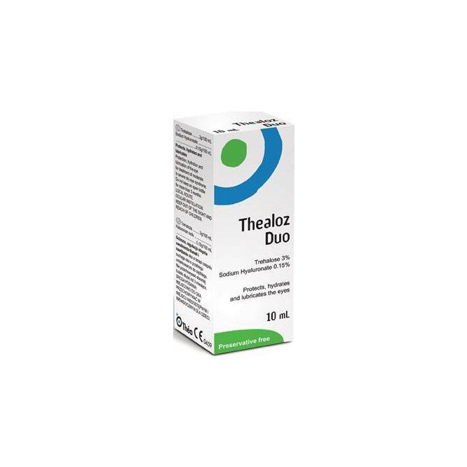 Thealoz duo dry eye drops 10ml