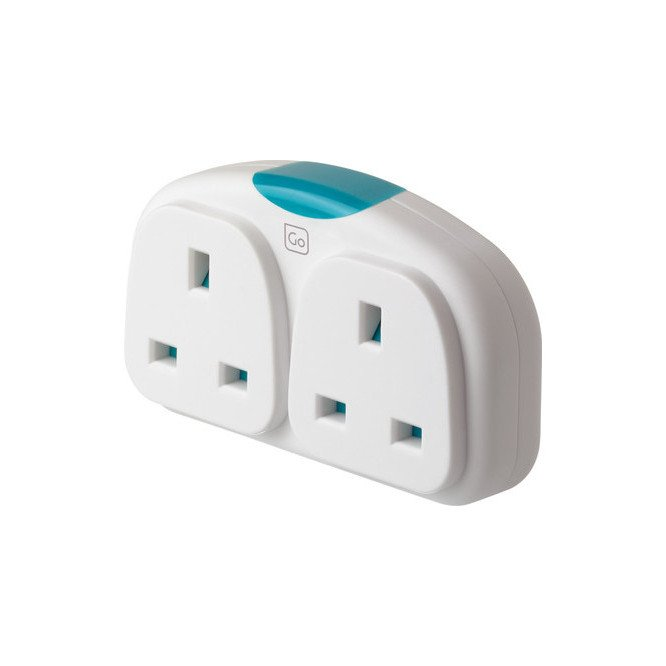 Go Travel Adaptor Duo
