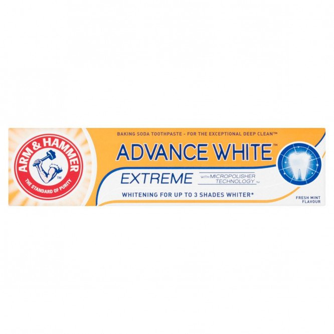ARM & HAMMER toothpaste advanced whitening 75ml