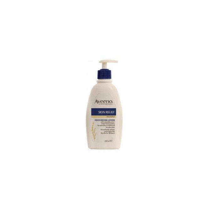 Aveeno skin relief body lotion shea butter 300ml