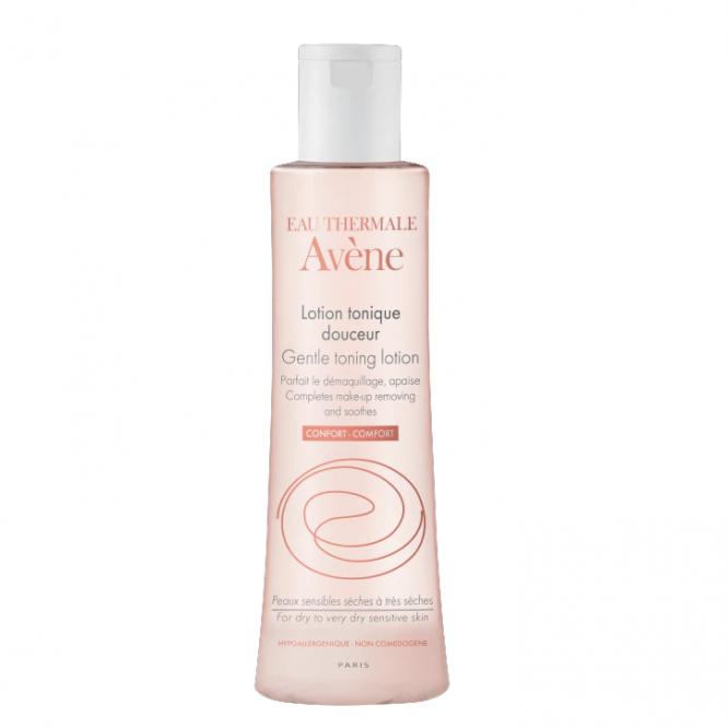 Avene Eau Thermal Gentle Toning Lotion 100Ml