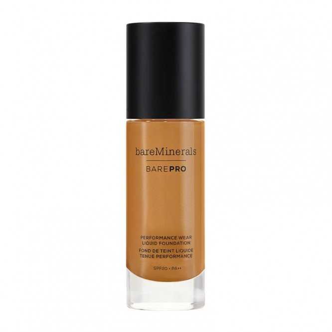 bareMinerals Pro performance wear liquid foundation Hazelnut spf20