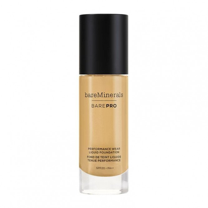 bareMinerals Pro performance wear liquid foundation Toffee spf20