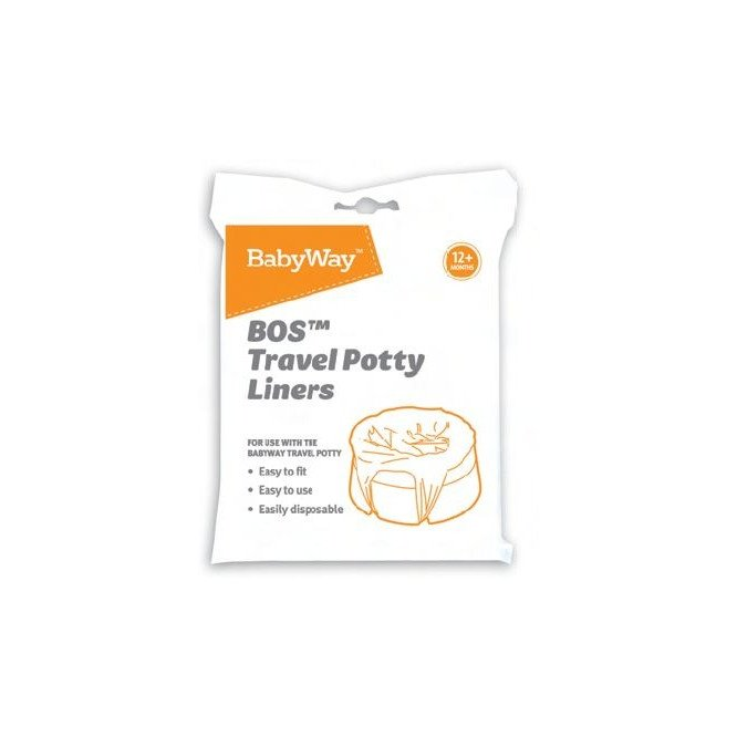 BABYWAY 10 POTTY LINERS