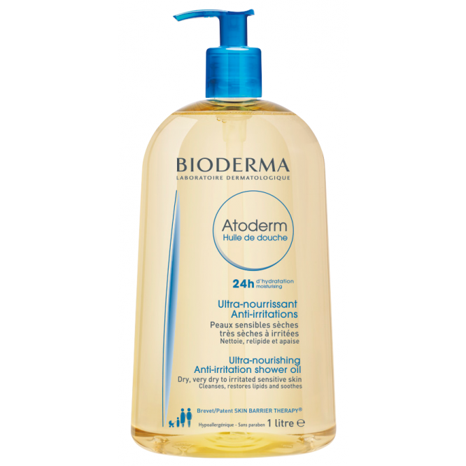 BioDerma Atoderm huile de douche 1L