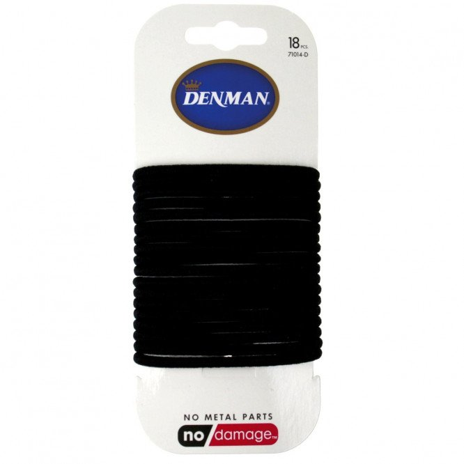 Denman 18 Pk 4mm L ND Elastic Black