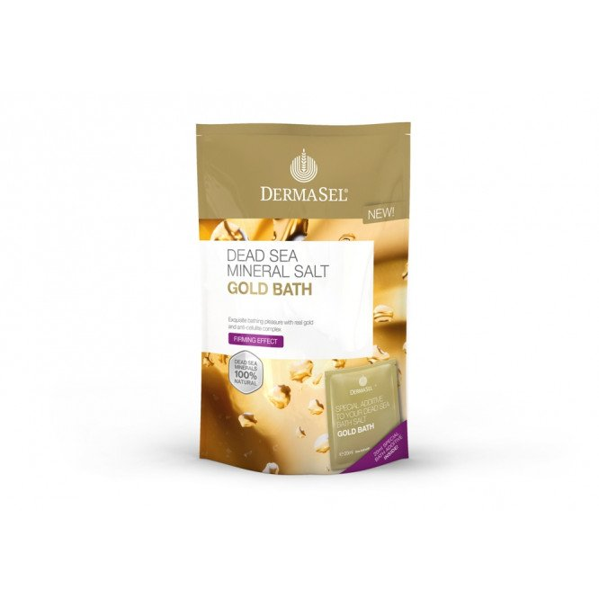 Dermasel dead sea bath salts Gold Bath