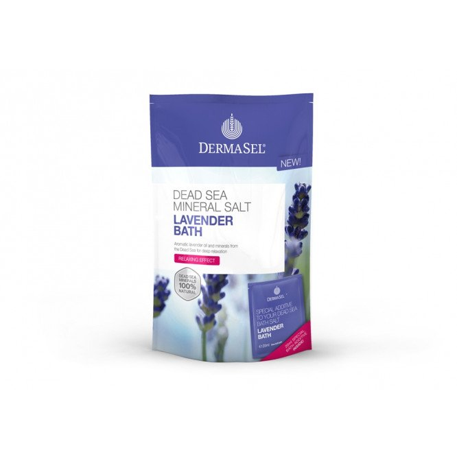 DermaSel Dead Sea Bath Salts Lavender