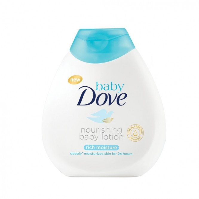 Dove baby lotion rich moisture 200ml