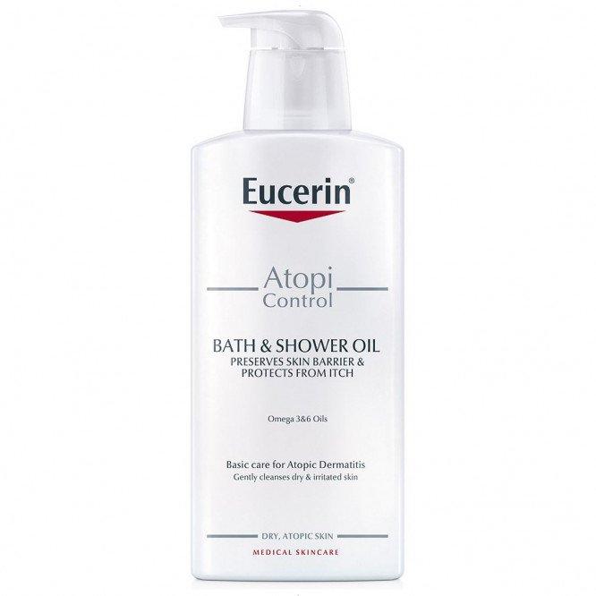 Eucerin AtopiControl Bath and Shower Oil 400ml