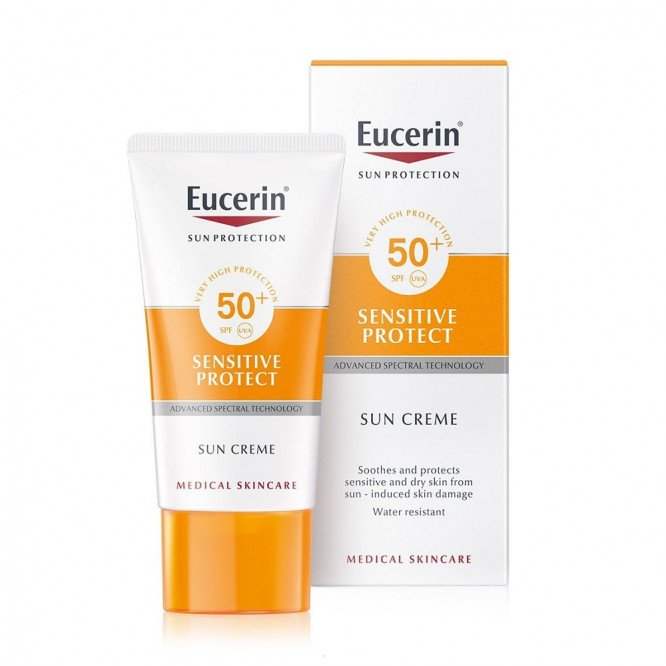 Eucerin Sensitive Protect Sun Cream 30 Spf 50Ml