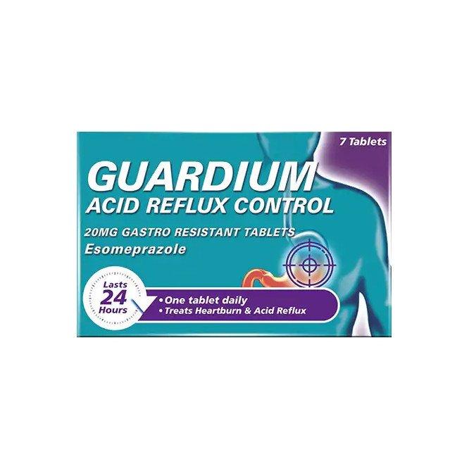 Guardium Acid Reflux Control 20mg Gastro Resistant Tablets