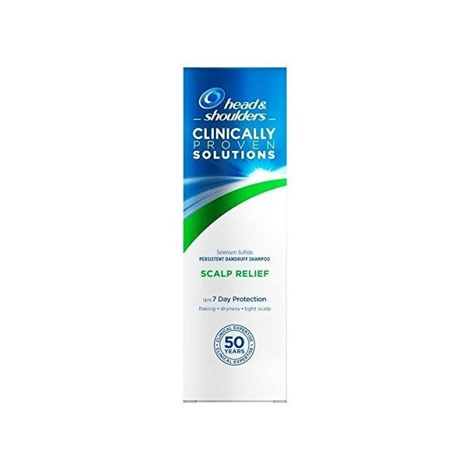 HEAD & SHOULDERS Shampoo Solutions scalp relief 130ml