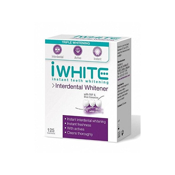 IWHITE instant teeth whitening Dental Floss interdental whitener 125