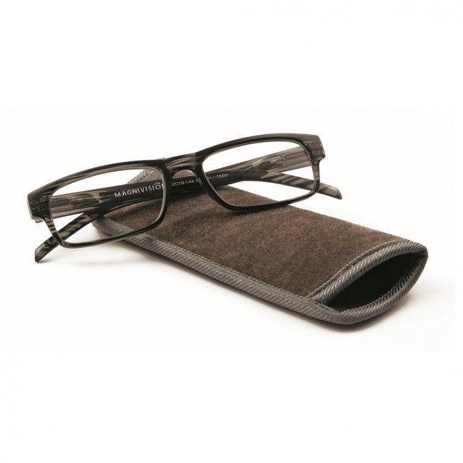 Magnivision Mens Reading Glasses-Jasper 1.00