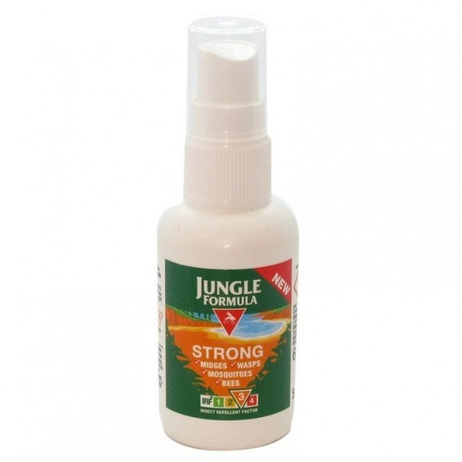 Jungle formula insect repellent strong pump 60ml