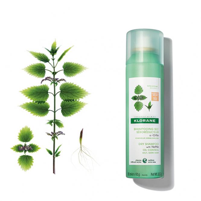 Klorane Dry Seboregulating Shampoo with Nettle Extract 150ml