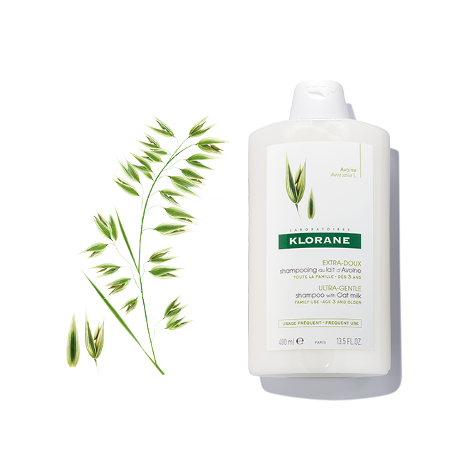 Klorane Ultra-gentle shampoo with oat milk