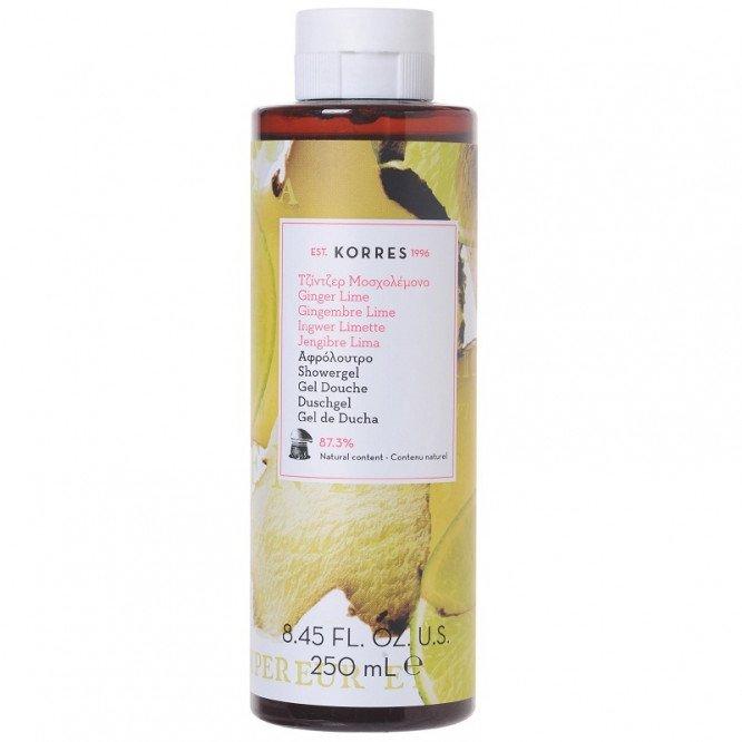 Korres Gel Douch Ginger Lime (250ml)