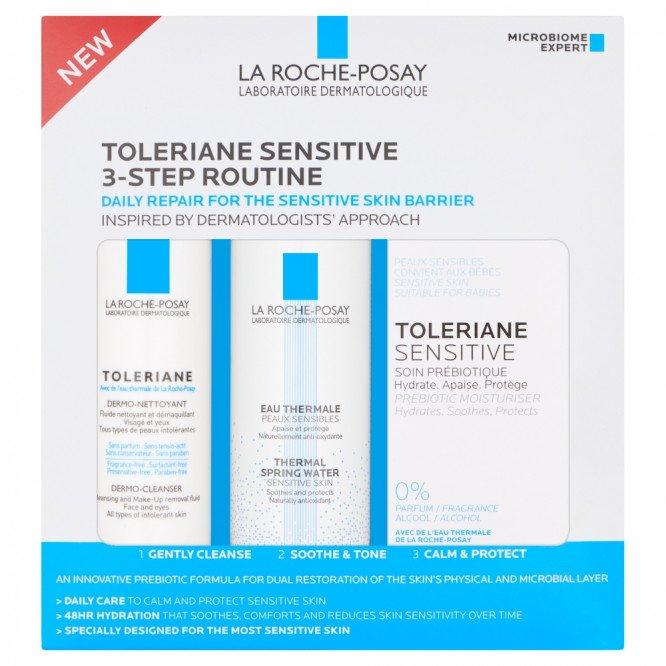 La Roche-Posay Toleriane Toleriane Sensitive 3- Step Routine