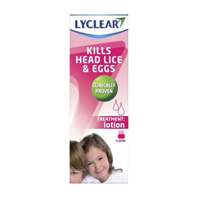 Lyclear Head Lice Treatment Lotion 100ml