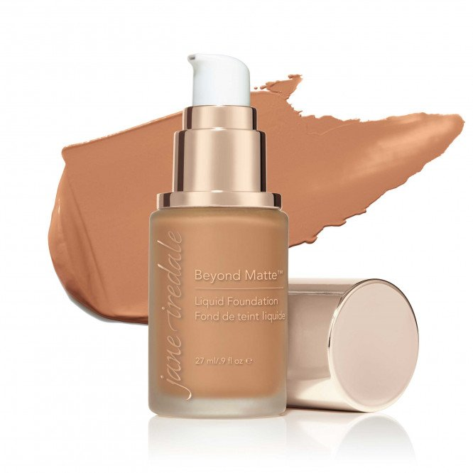 Jane Iredale Beyond Matte™ Liquid Foundation - M11 - dark with peach/pink undertones