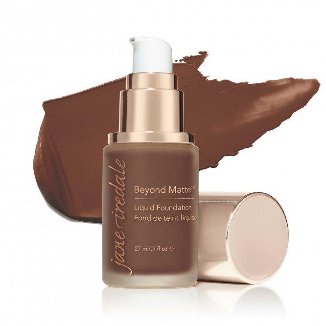 Jane Iredale Beyond Matte™ Liquid Foundation - M17 - deeper chocolate brown with red undertones