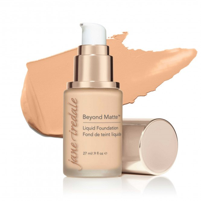 Jane Iredale Beyond Matte™ Liquid Foundation - M2 - fair to light with peach undertones