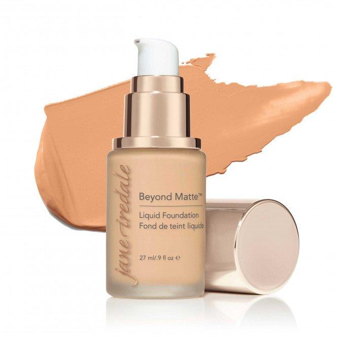 Jane Iredale Beyond Matte™ Liquid Foundation - M3 - light to medium with peach undertones