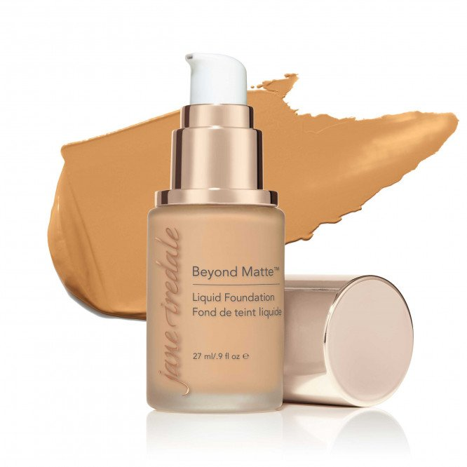 Jane Iredale Beyond Matte™ Liquid Foundation - M8 - medium neutral