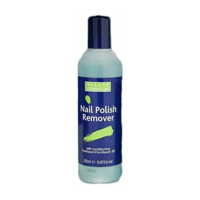 BEAUTY FORMULAS NAIL POLISH REMOVER