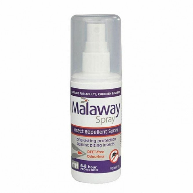 Malaway Insect Repellent Spray - Deet Free 100ml