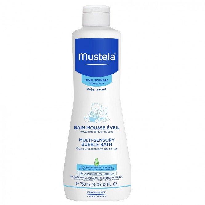 Mustela Multi Sensory Bubble Bath - 750 ml