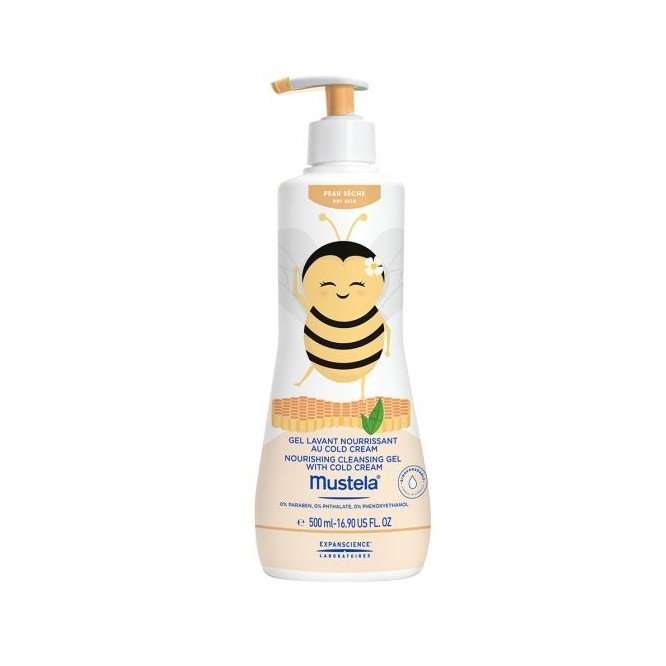 Mustela Nourishing Cleansing Gel with Cold Cream 500ml