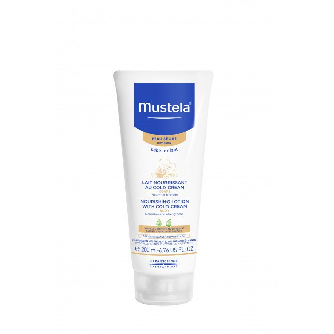 Mustela Nourishing Lotion with Cold Cream Body