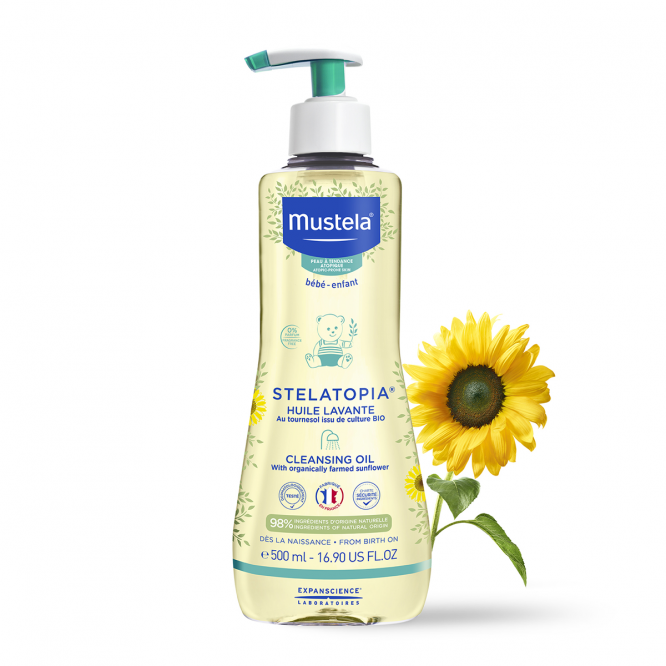 Mustela Stelatopia Cleansing Oil 500ml