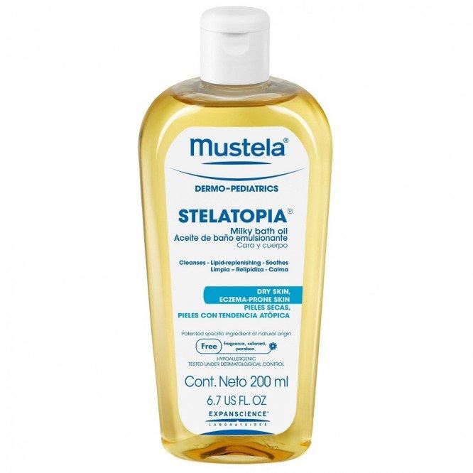 Mustela STELATOPIA MILKY BATH OIL