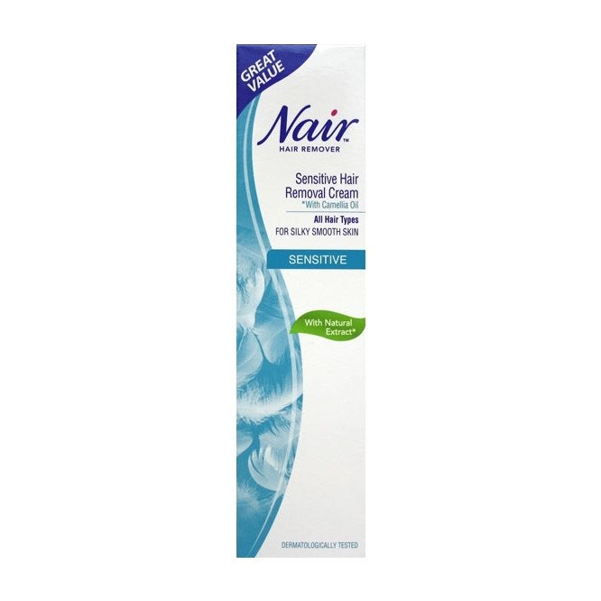 NAIR SENS CREAM 80ML 12