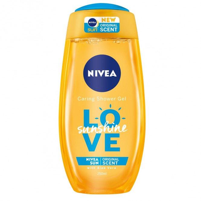 Nivea Love Sunshine Shower Gel 250ml