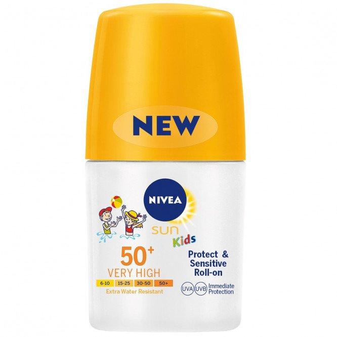 Nivea Sun Kids Protect & Sensitive Roll-on 50+