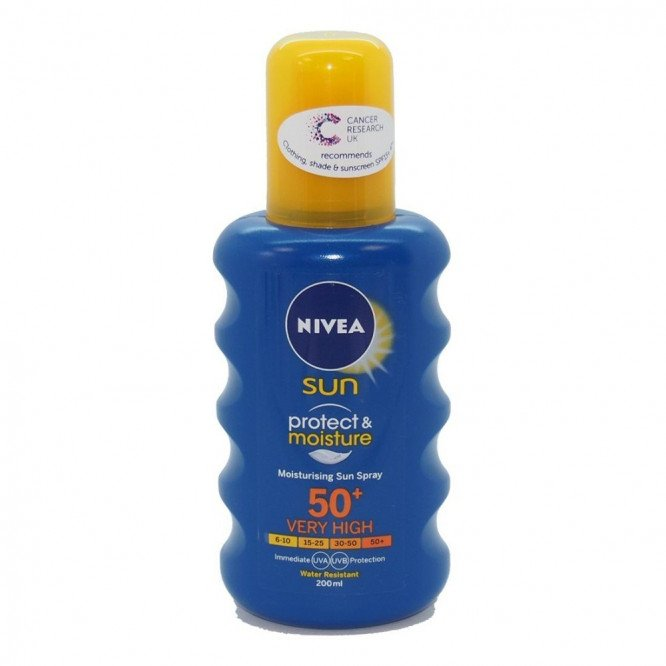 Nivea suncare sun spray spf 50+ 200ml