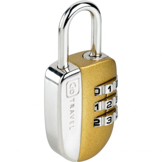 Go Travel No-Key Padlock Single