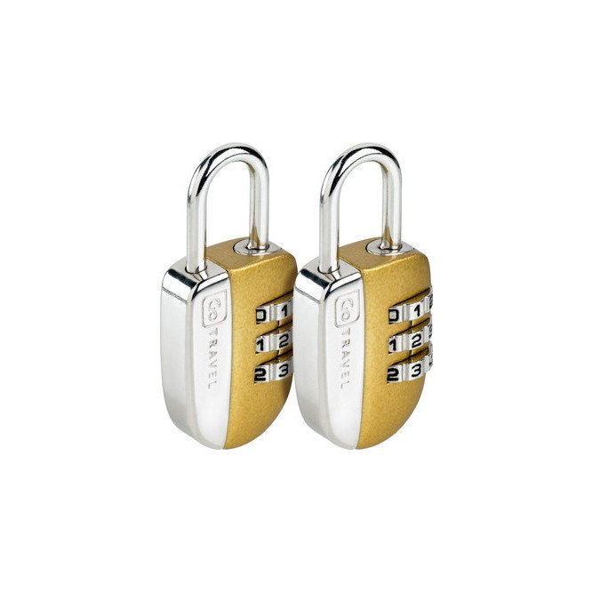 Go Travel No-Key Padlock Twin