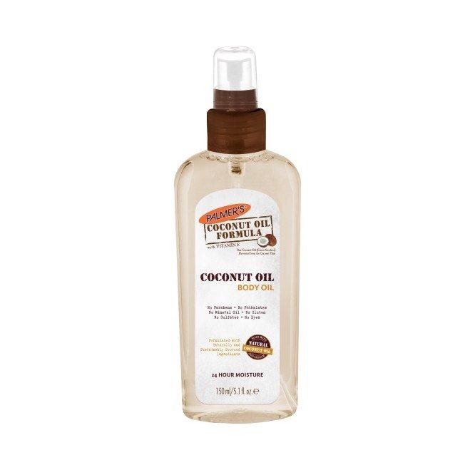 PALMERS hand & body coconut oil formula body oil 150ml