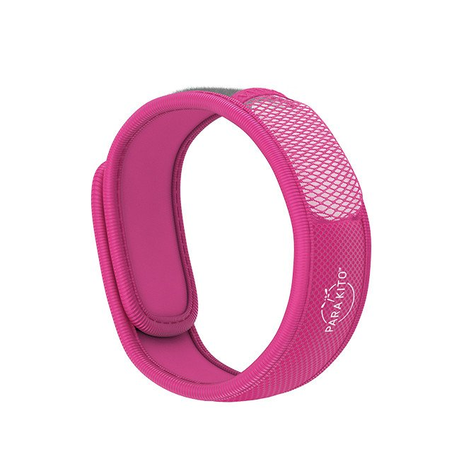 Para'Kito essential Oil Diffusion pink Wristband